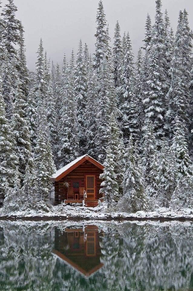 Дом на озере О' Хара, Канада.