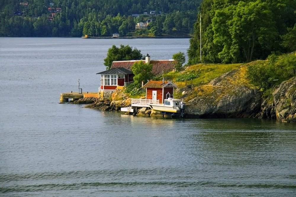 Домик мечты, Швеция
