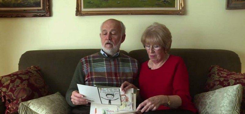 Муж чуть не заплакал, когда узнал, что скрывала его жена 40 лет!