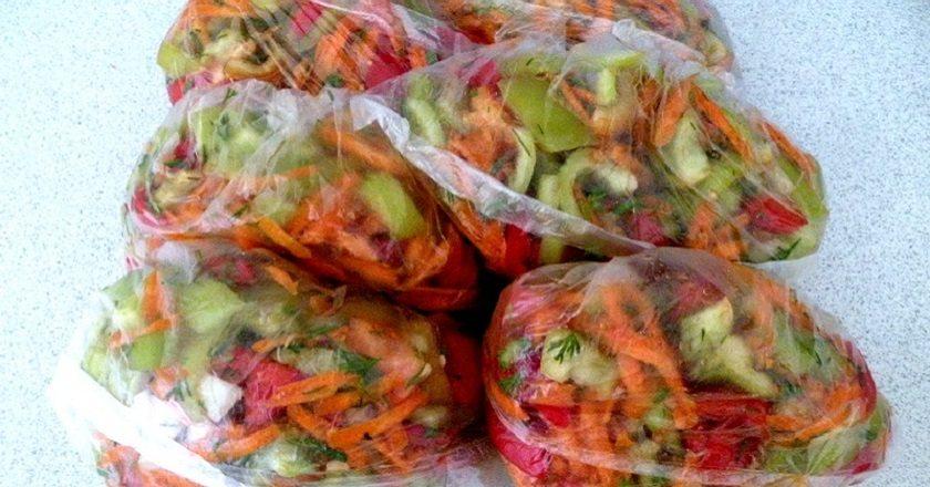 Замороженные овощные смеси на зиму своими руками 23