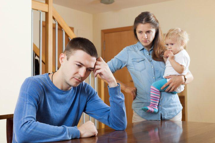 after quarrel at home