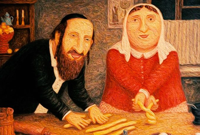 Вот почему нужно жениться на еврейке!