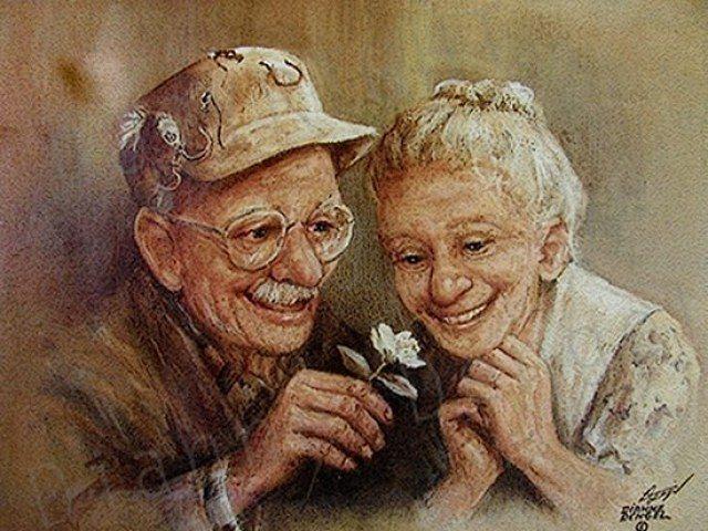 Дедушка и бабушка всю жизнь играли в таинственную игру — смысл такой трогательный!