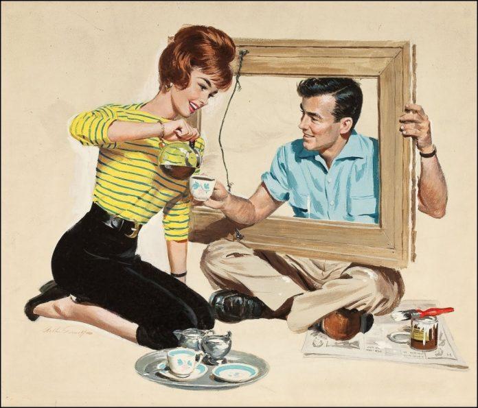 Мужчина игнорировал просьбы своей жены, но то, как она с этим справляется – превосходно!