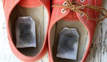 Когда ты узнаешь, зачем она положила чайный пакетик в обувь, сделаешь так же!