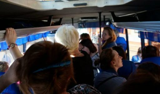 Как мамашке в автобусе урок преподали за воспитание по японской системе
