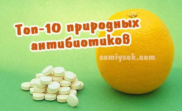 Топ-10 природных антибиотиков: безопасное лечение и эффективная профилактика