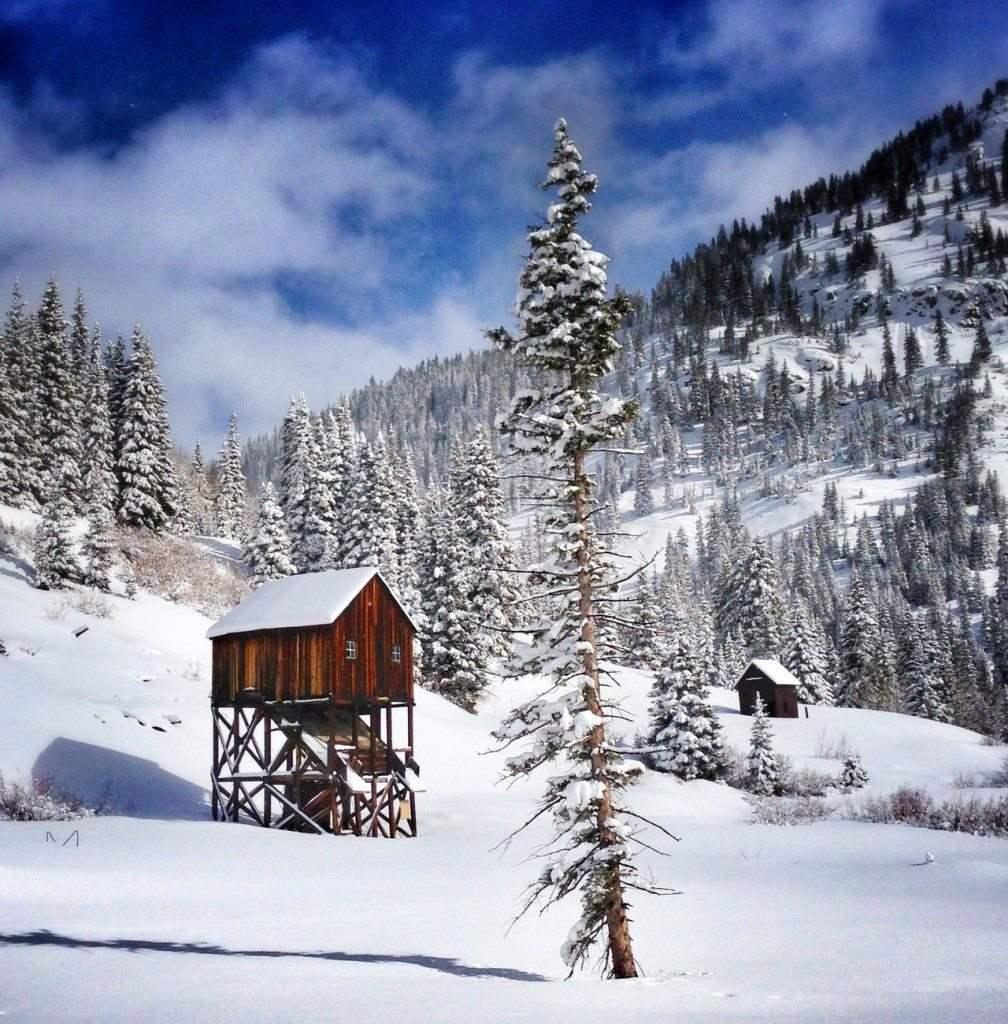 Укрытие на случай сильного снегопада. Сильвертон, Колорадо.