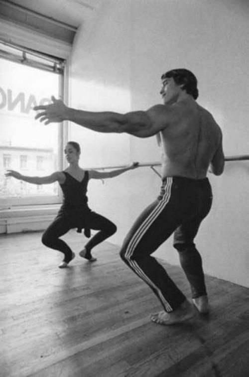 Арнольд Шварценеггер и балет.