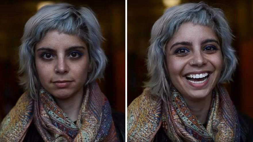 Фотограф показал, ЧТО ПРОИСХОДИТ с человеком, когда ему говорят, что он красив