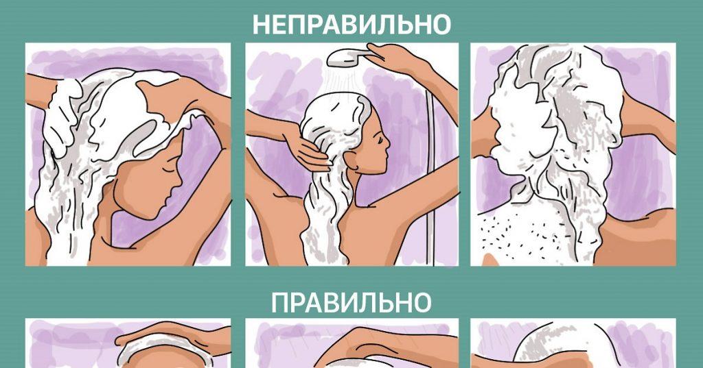 Вот это поворот! Оказывается, ты всё это время мыла голову неправильно!