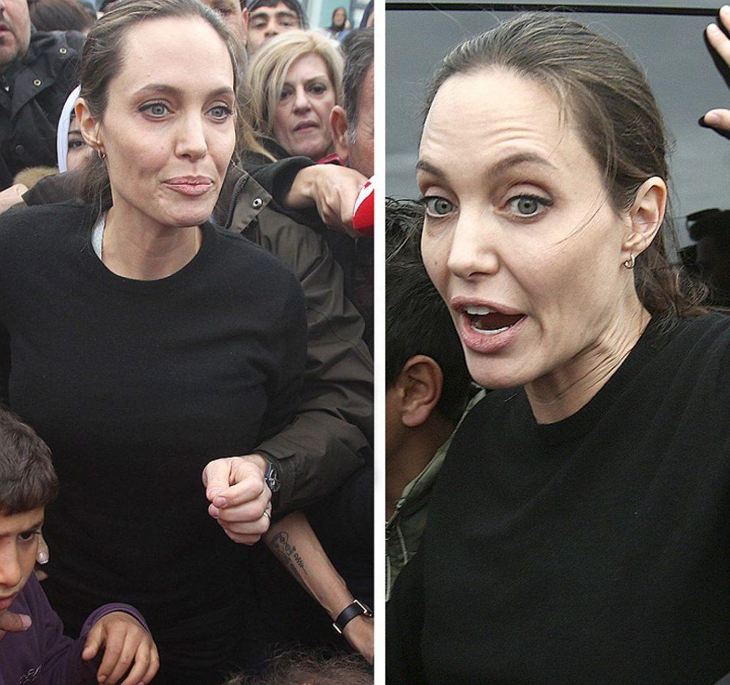 Анджелина Джоли при смерти была доставлена в больницу!