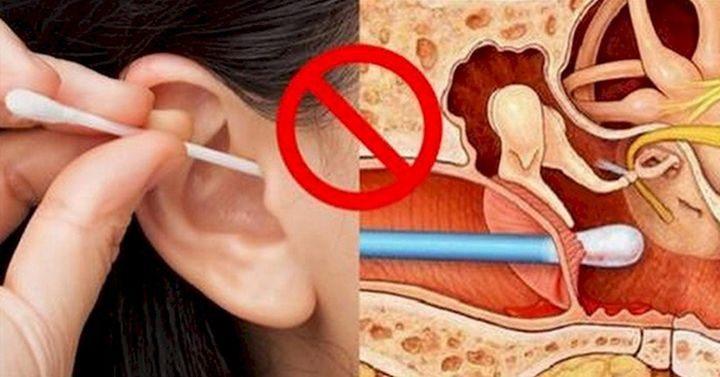 Ведущий в мире специалист по «ухо-горло-носу» раскрывает «Почему нельзя чистить уши ватными палочками»!