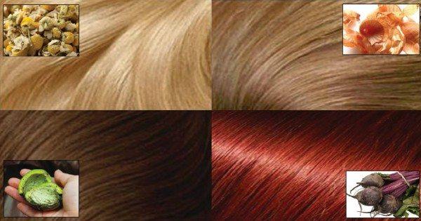 Как окрасить волосы без химии: только натуральные средства!