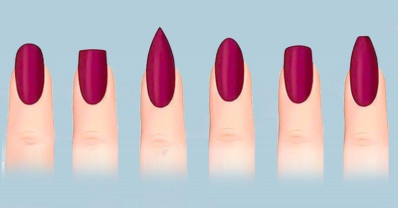 Лучшие варианты: 12 способов придать ногтям шикарную форму.