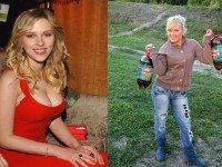 Как бы выглядели голливудские звезды, если бы жили в России