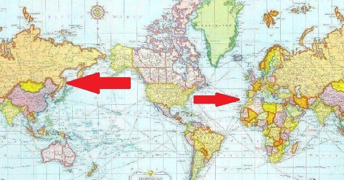 Ни за что бы не догадалась, КАК выглядит карта мира в разных странах... Вот так открытие!
