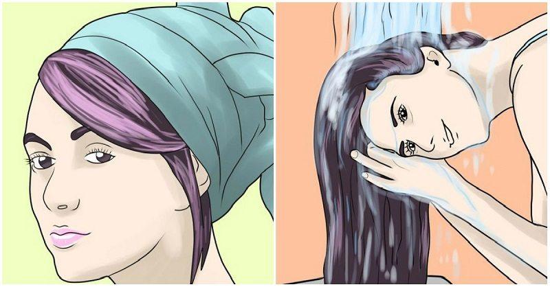 Простая маска для длинных и густых волос
