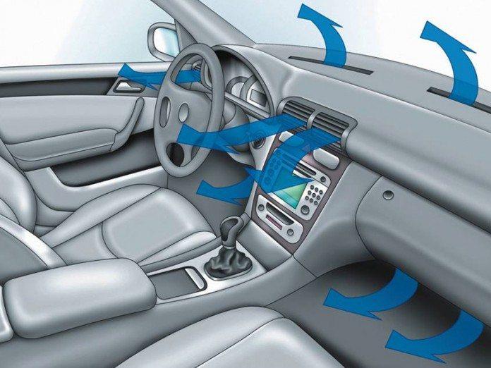 Не включайте кондиционер сразу же после заводки машины!