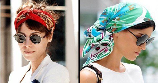 Как красиво завязать платок на голове: 12 отличных способов создать изюминку для образа.