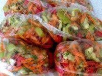 Отличная овощная заготовка на зиму. Для вкусного супчика всё под рукой!