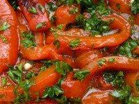Если готовить болгарский перец, то только так. Потрясающая заготовка на зиму с чесночком.