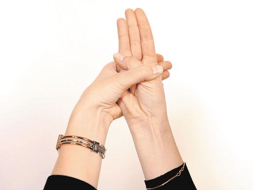 Йога пальцев для здоровья печени