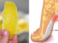 Лимонная цедра может спасти вас от хронической боли в суставах!