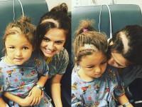 Эта мама вслед за дочерью сбрила волосы. Причина заставит тебя прослезиться.