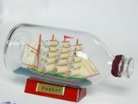 Вопрос, который мучает еще с детства: как эти кораблики оказываются в бутылке.