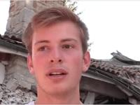 В Аматричи 17-летний подросток, рискуя жизнью, спас свою семью от землетрясения