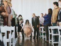 Парализованная невеста въехала в церковь, а дальше началось волшебство!