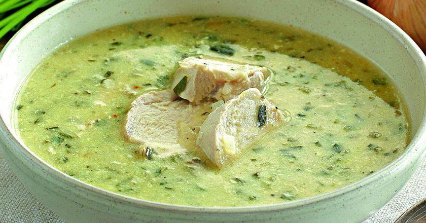 Грузинский куриный суп чихиртма: хочется готовить на первое каждый день!