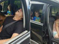 Приняв наркотики, родители отключились прямо в машине. На заднем сидении был их малыш...