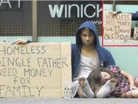 """Этот """"бездомный"""" молил о еде, но вы не поверите, что у него в гараже."""