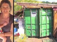 Люди осуждали ее за то, что она живет в контейнере с дочкой. Но когда зашли внутрь, были поражены!
