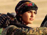 Курдская Анджелина Джоли вызвала ажиотаж в западных СМИ. Она пошла на войну в 19 лет...