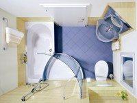 9 восхитительных идей для маленькой ванной комнаты. Советы по визуальному увеличению пространства.