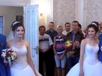 Дважды два: в Жукове сыграли свадьбу две пары идентичных близнецов