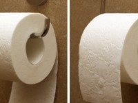В соответствии с патентом для туалетной бумаги, вот ПРАВИЛЬНЫЙ СПОСОБ, как повесить её!