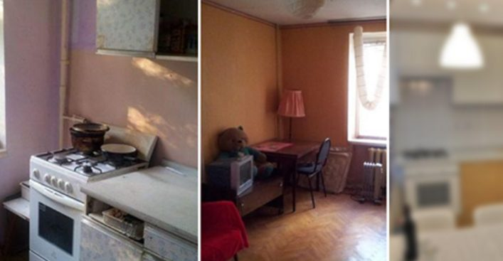 До и после: что можно сделать с маленькой советской квартирой. Это стоит увидеть!
