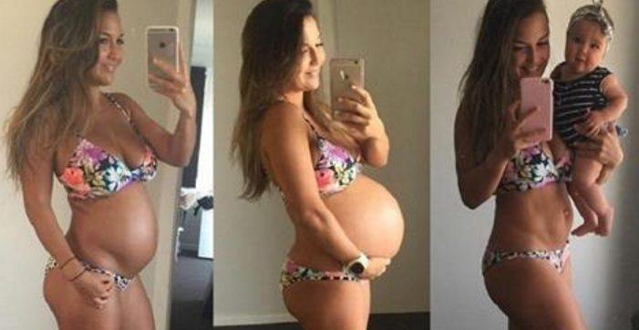 Эта фитнес-мама показала, как в действительности должно выглядеть тело после родов.