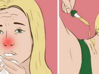 Она нанесла несколько капель этого средства на шею… Спустя 1 день симптомы простуды исчезли!