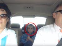 Дедушка с бабушкой решили подвезти внука, он запомнит эту поездку надолго!