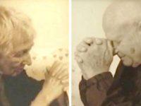 Он прожил с любимой женой 63 года и умер через 20 минут после ее смерти
