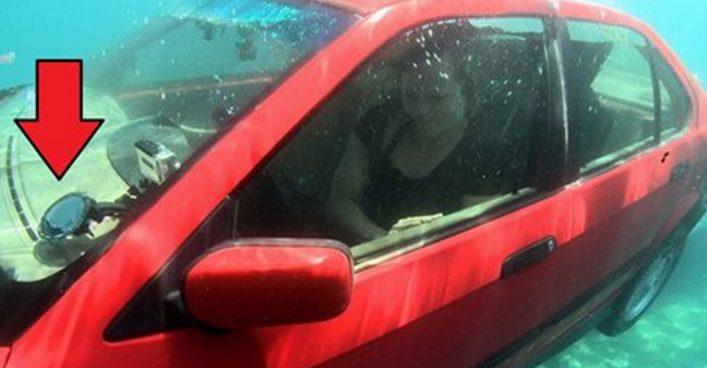 Как выбраться живым из тонущей машины: она вспомнила этот совет вовремя!