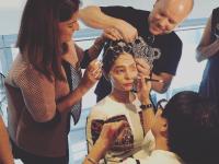 Индийская модель, облитая кислотой, произвела фурор на Неделе моды в Нью-Йорке