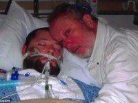 Отец не дал отключить сына от аппарата жизнеобеспечения, взяв его за руку, но сын…