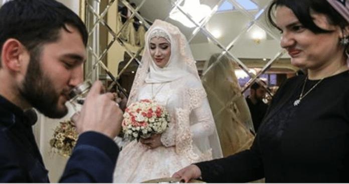 Трехдневная чеченская свадьба, на которой невесте можно только стоять в сторонке