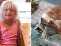 Мама призывает родителей использовать автокресла, после того как ее 6-летней дочери ремень безопасности изрезал живот.